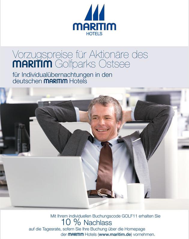 Buchungsvorzugspreise der Maritim Hotels