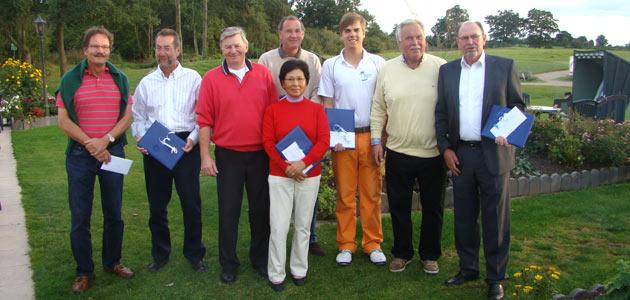 Sieger Und Platzierte Des 12. Aktionärsturniers 2012