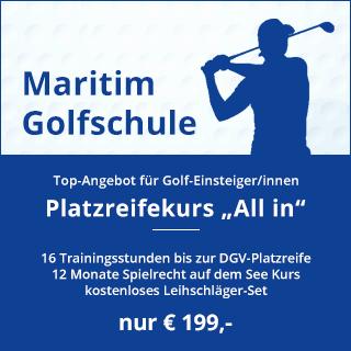 """Ab März 2020: Platzreifekurs """"All in"""" nur 199,- €"""